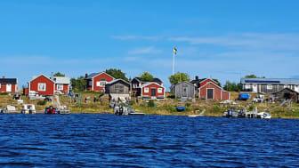 Stor-Räbben är en av öarna där kommunen har skärgårdsstugor för uthyrning. Foto: Tone Brunes