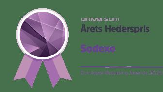 Sodexo - Årets Hederspris 2020