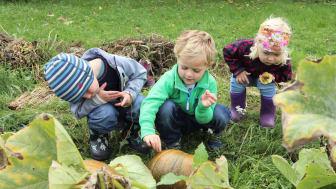 Barn dyrker! Foto: Emma Gerritsen