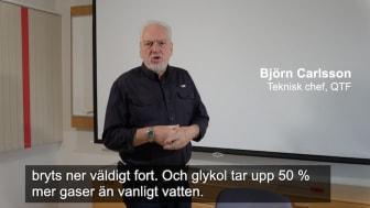 I videon nedan berättar Björn Carlsson hur syre bryter ner glykoler