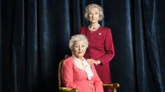 Meta Velander och Yvonne Lombard.