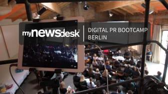 Mynewsdesk's Digital PR Bootcamp am 22. März in Berlin