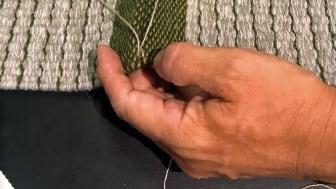 Kasthall_Bukowskis_CKR Tatami Rugs_Sewing