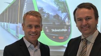 Linus Eriksson, Skånetrafiken och Iker Etxetxikia Etxebeste, CAF