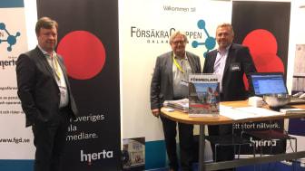 Hjerta tillsammans med EA och FörsäkraGruppen i Dalarna på Kistamässans Ekonomi & Företag
