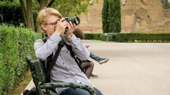 Samuel Blixt - fotograf i Frövi som får delta i Dokumentärfotosalongen 2020.