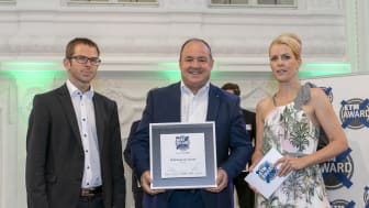 Ralf Merkelbach, Head of Key Account Management Major Fleets Europe, at the 'Best Brand 2018' awards ceremony at the New Palace in Stuttgart on 21 June.