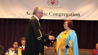 Northumbria honours Hong Kong civic leader