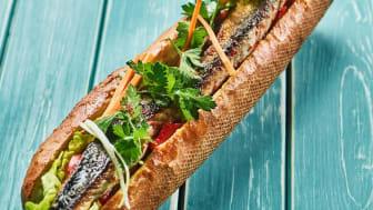Balik ekmek, tyrkisk streetfood med norsk makrell