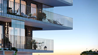 Brf Salteriet, balkonger