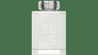 Tydlig display på radiatortermostaten Somfy Thermostatic Valve io