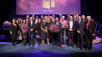 Alla regionala vinnare vid Visa Vägen-galan