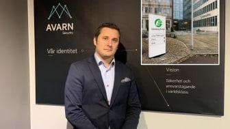 Henrik Yhlen är affärsområdeschef på Avarn Security Systems.