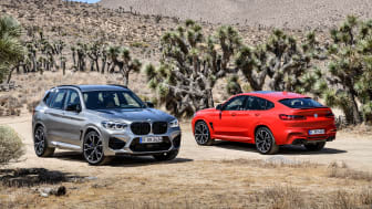 BMW X3 M Competition og BMW X4 M Competition