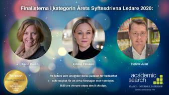 Emma Pålsson, VD Findus, nominerad till Årets Syftesdrivna Ledare 2020