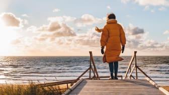 Promenera vid havet för bättre humör, vitalitet och mental hälsa. Foto: Linda Lomelino