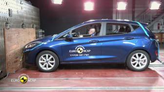 2017 Ford Fiesta crash test montage