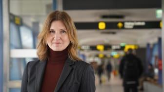 Maria Nyman, trafikdirektör på Skånetrafiken sedan 1 februari 2021 vill erbjuda nya, attraktiva erbjudanden till Skånetrafikens kunder efter pandemin.