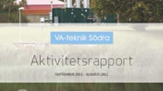 C SVU-rapport C VA-teknik Södra 2012: VA-teknik Södra Aktivitetsrapport september 2011 - augusti 2012 (Avlopp & miljö)