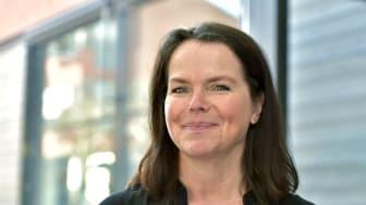 Annica Hammar, näringslivsutvecklare konstaterar att intresset är stort för den nya satsningen på företagsbesök. Foto: Annette Sandberg