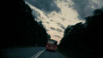 Nattstopp mellan Norrängen och Gränna