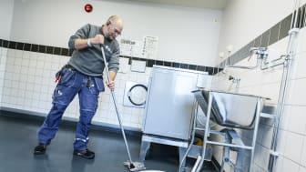 Nu blir det högre kvalité på städningen i hyresgästernas gemensamma utrymmen.  Nordisk kvalitetssystem sätter ribban.