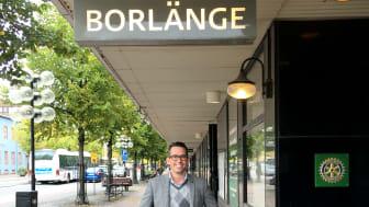 Joakim Lempiäinen, hotelldirektör på Scandic Lugnet Falun och Scandic Borlänge.