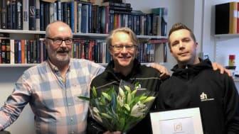 Egain Sustainable City Award tilldelas Sollentunahem!