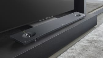 Новый стильный тонкий саундбар HT-NT5 с поддержкой аудио высокого разрешения (High-Resolution Audio) и 4К, встроенным Wi-Fi, поддержкой Multiroom и беспроводным сабвуфером