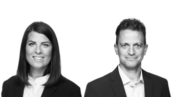 Lisa Lundmark, Head of Accounting och Simon Bergenwall, Product Manager