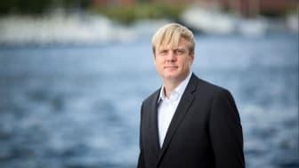 Tomas Eriksson (MP), gruppledare i Stockholms läns landsting. Fotograf: Fredrik Hjerling