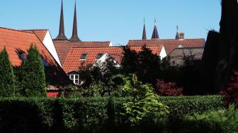 Livet omkring middelalderens domkirke vil folde sig ud med ord, lugte, lyde og fortællinger, når Roskilde Museum bidrager til Verdensarvsdagen den 28. september. Foto: Museumskoncernen ROMU