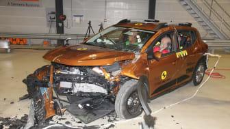 Dacia Sandero Stepway Mobile Progressive Deformable Barrier - after test - April 2021.jpg