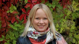 Emma Lundberg, docent vid KTH och ansvarig för High Content Microscopy-anläggningen vid Scilifelab i Stockholm. Peter Ardell.