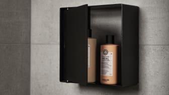 CASE duschförvaring matt svart