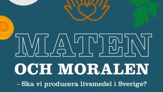 Omslag till boken Maten och moralen