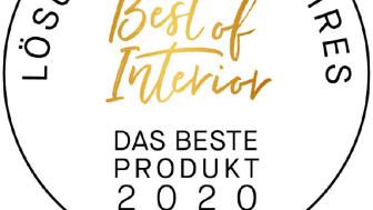 Siegel Best of Interior Award - Das beste Produkt 2020_Callwey_burgbad_03