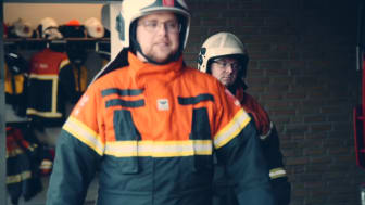 Brandmænd hædres for indsats ved togulykken på Storebæltsbroen