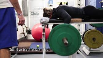 Lamars videohilsen til Cecilia Brækhus