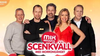 """Hejdlöst populärt radioprogram blir scenshow i Göteborg -""""Scenkväll med Morrongänget"""" i regi av Hans Marklund"""