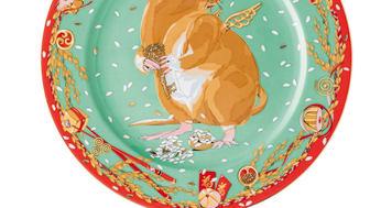 Rosenthal - Year of the Rat Zodiac Plate/Design: iSHONi