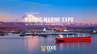 Visit Pacific Marine expo to experience OXE Diesel
