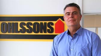 Mikael Blomqvist, ny regionchef för Ohlssons i region Mitt