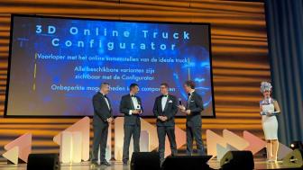 DAF Trucks vinner prestigefyllda Computable Award 2018
