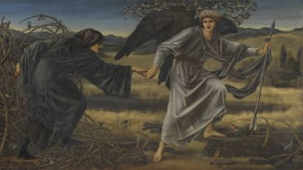 Edward Burne-Jones, Love and the Pilgrim, 1896-7. Olja på duk, 1575 x 3048 mm, ©Tate, London 2017