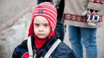 Många barnfamiljer har inga pengar kvar i januari efter julen.