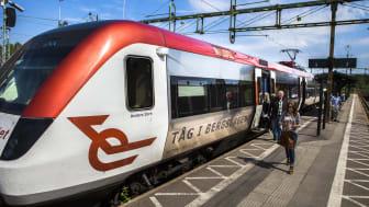 Tillfällig tidtabell för tågen Ludvika-Västerås under hösten