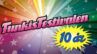 Funkisfestivalen fyller tio år