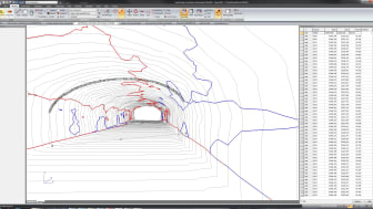 Topocad 15 Tunnel Point Cloud / Punktmoln