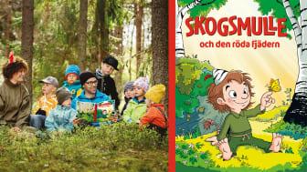 """""""Här ges möjlighet för en ny generation barn att lära känna Skogsmulle i bokform och låta sig inspireras till egna upptäckter bland djur och natur."""" Helhetsbetyg: 4/5 (Inger Lindberg, BTJ-häftet nr 17, 2020)"""